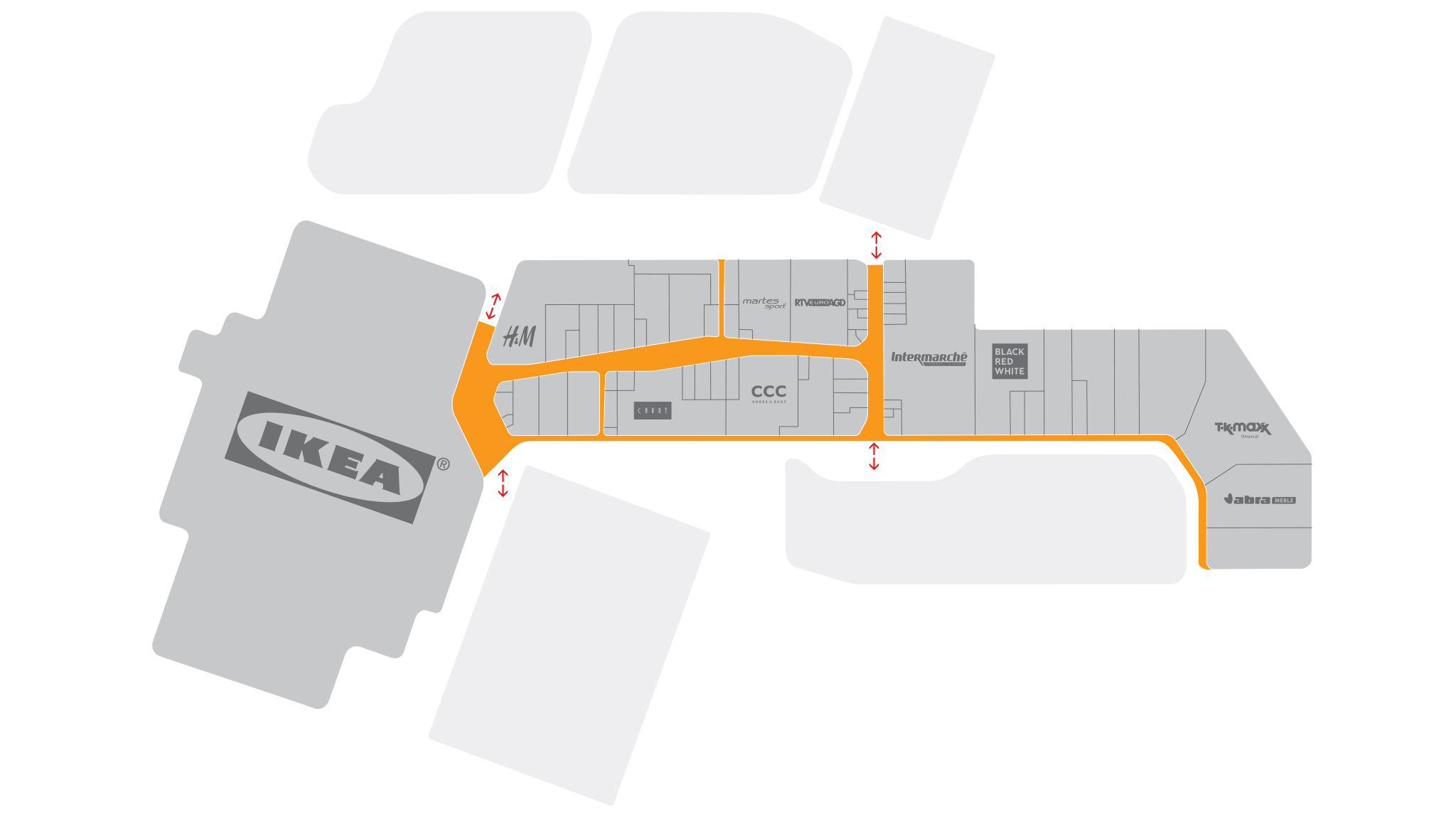 Skende shopping Floorplan