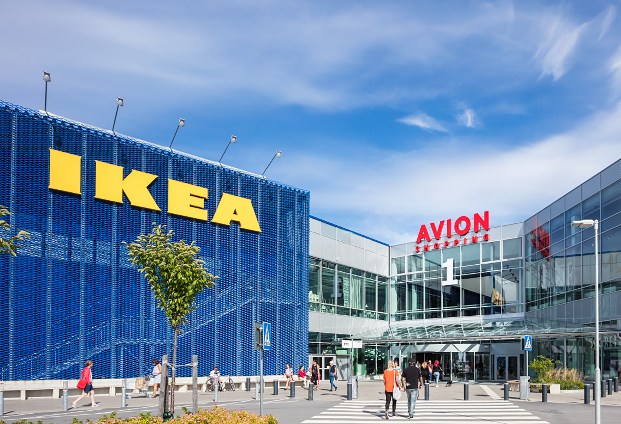 AVION Shopping Umeå, Ingka Centres