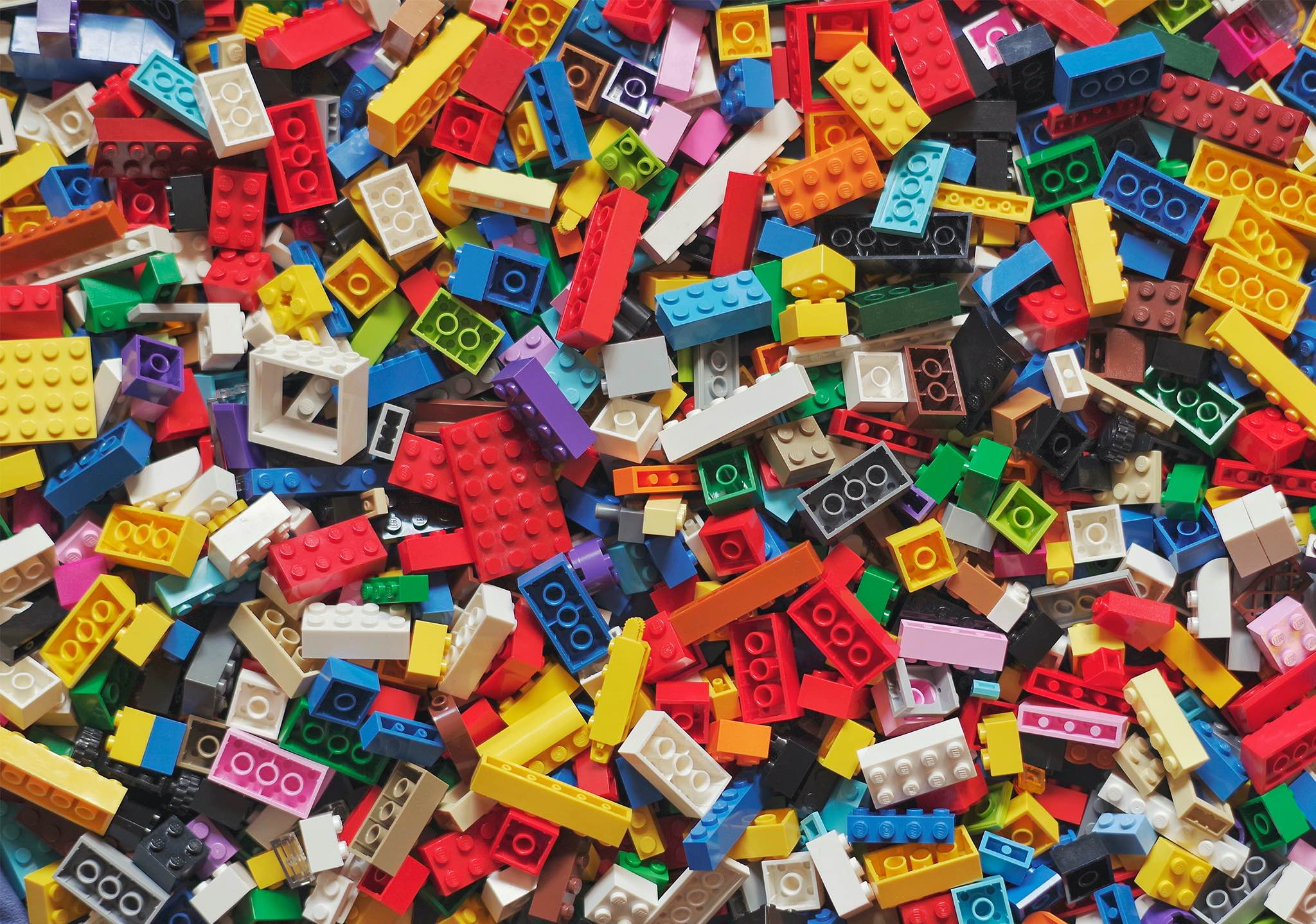 "LEGO bricks, used for the ""Put it together and take it"" masterclasses at MEGA centres in Russia."